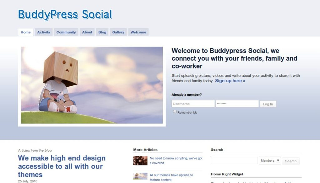 buddypress-social-wordpress